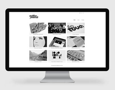 Matthew Pomorski Portfolio Website