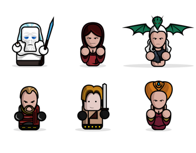 """Characters of """"Game of thrones"""""""