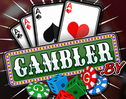"Creating a logo for the site on gambling ""Gambler.by""."