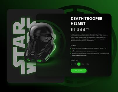 Star Wars Death Trooper Web UI