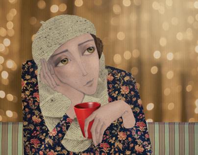 People & Coffee/Illustrations