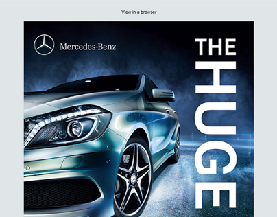'Stratstone Mercedes-Benz' Emailers