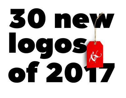 30 new logos of 2017