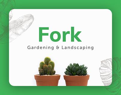 Fork - Gardening & Landscaping Web Design
