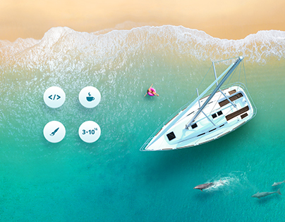 Site for yachts booking