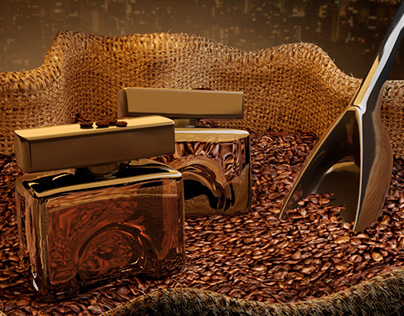 Caffee Passione - Concept Art and 3D Model with Maya
