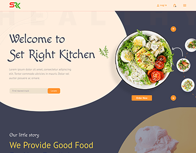 Food Truck - Website UI