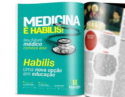 Anúncio Revista - Habilis