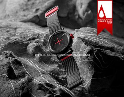 SVPER11 / Apollo 11 Moon Landing inspired watch