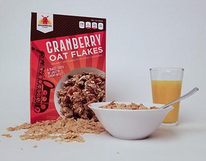 Grainwood Farms Assorted Cereal Packaging