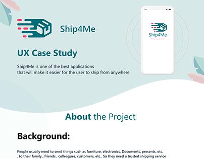 Ship4me Mobile App