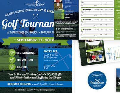 Golf Tournament Publicity (The PHF)