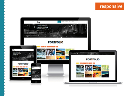 Tony – Responsive Portfolio WordPress Theme