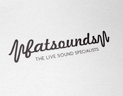 'fatsounds' Branding