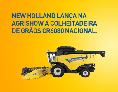 New Holland Agriculture Agrishow 2011