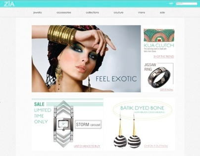 Zia Boutique E-commerce Website