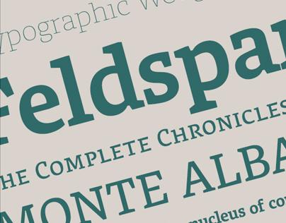 Typeface: Feldspar