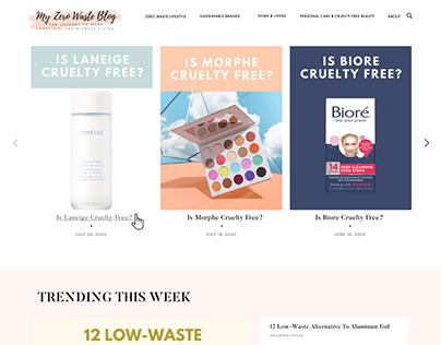 My Zero Waste Blog