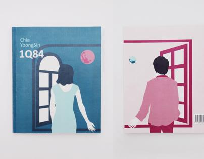 Novel Redesign // 1Q84