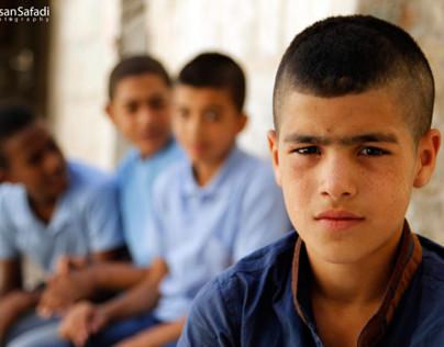 Israeli Occupation Forces assaults children