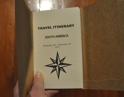 Travel Itinerary Document