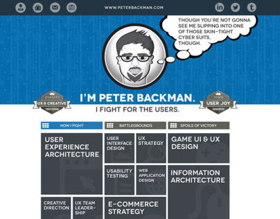 Personal Site UX, Design & Development