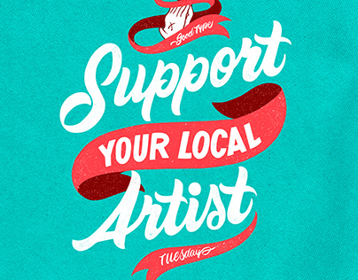Support your local artist.