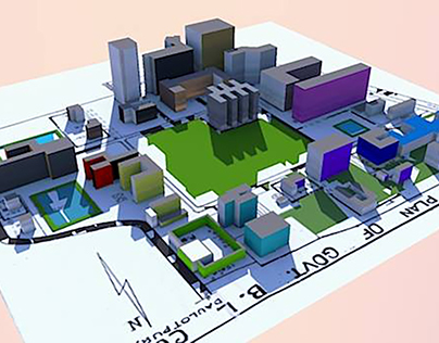 3D model of BL College