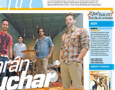 Periódico El Horizonte. Trabajo editorial.