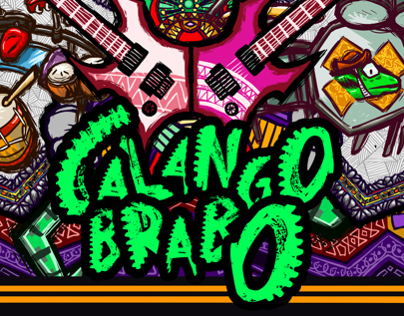 Calango Brabo Booklet