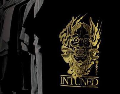 Tanoshi Hannya Mask Tshirt Design