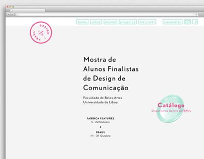 DESIGN: FBAUL 2012