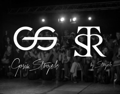 GOSIA STROJEK, STR - logo