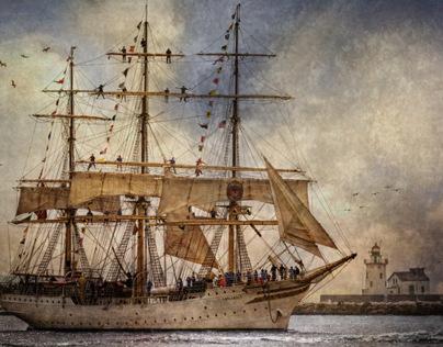 Tall Ships Art