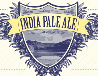 Indian Pale Ale Label