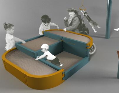 Sistema recreativo para espacios abiertos