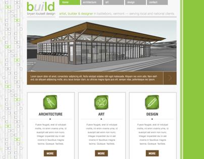 Website CMS Template Design