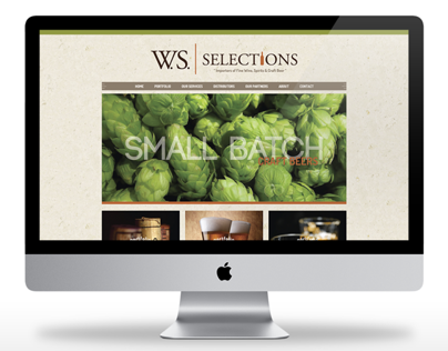 W.S.Selections  |  Website Design