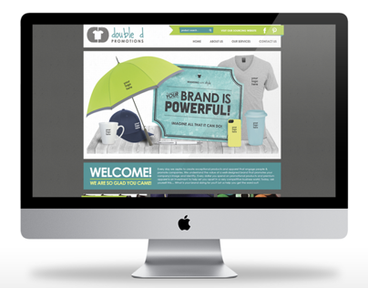 Double D Promotions  |  Website Redesign