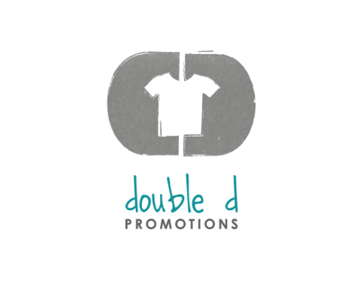 Logo design and mock ups for Double D Promotions