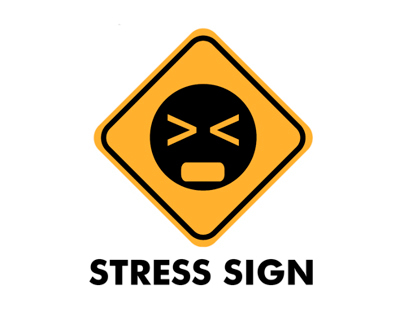 STRESS SIGN_infographic