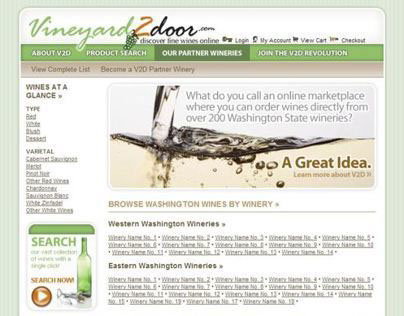 Wine E-Commerce Application