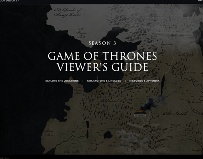 Game of Thrones Season 3 Viewer's Guide