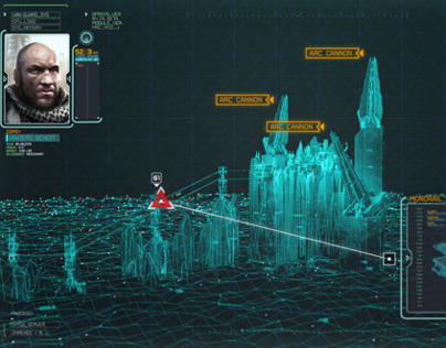 Killzone Mercenary - In-Game Motion Graphics