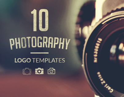 10 Photography Logo Templates