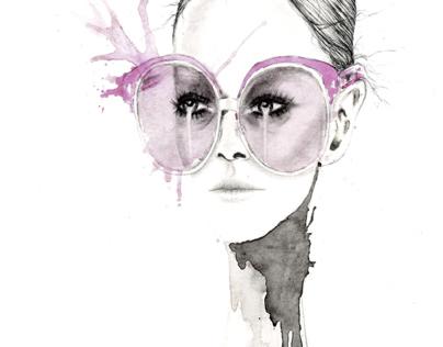 Gucci 'Sunglasses at Night'