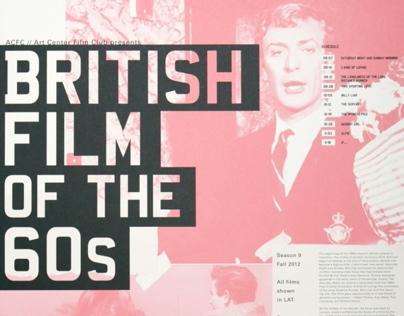 British Film Of The 60 S On Behance