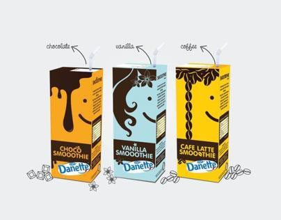 PACKAGING FOR DANETTE SMOOTHIE