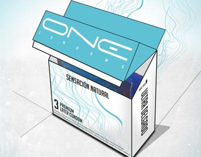Packaging design Condoms
