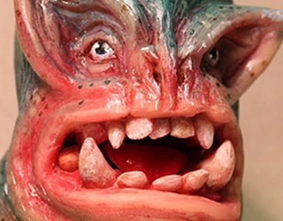 Creature Bust / Sculpt / Clay